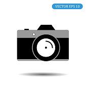 camera icon.vector illustration.eps 10