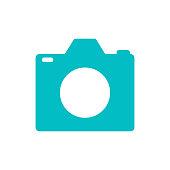 camera logo icon concept