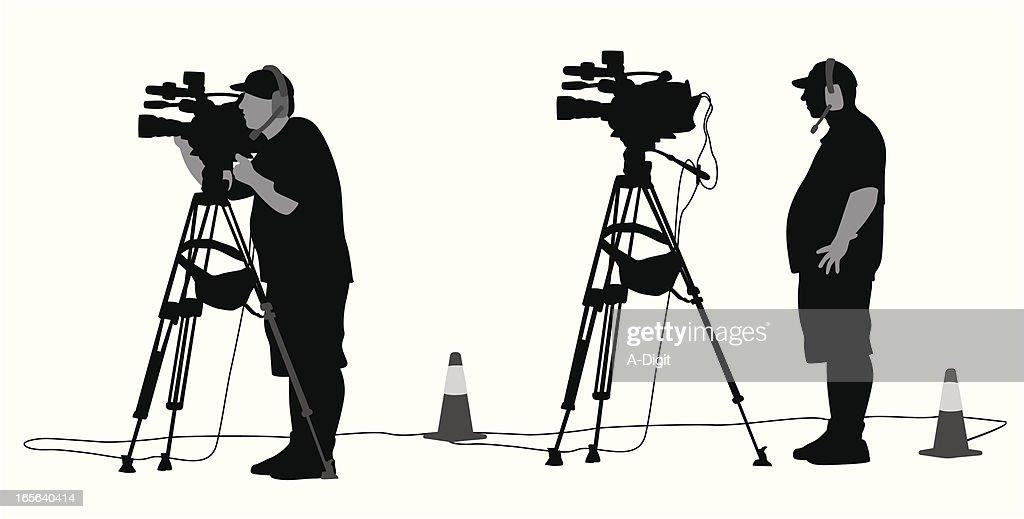 Operador de câmara : Ilustração