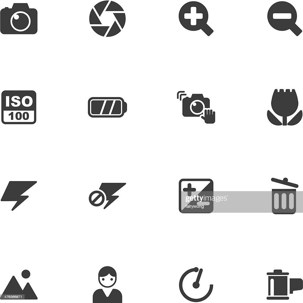 camera menu icons
