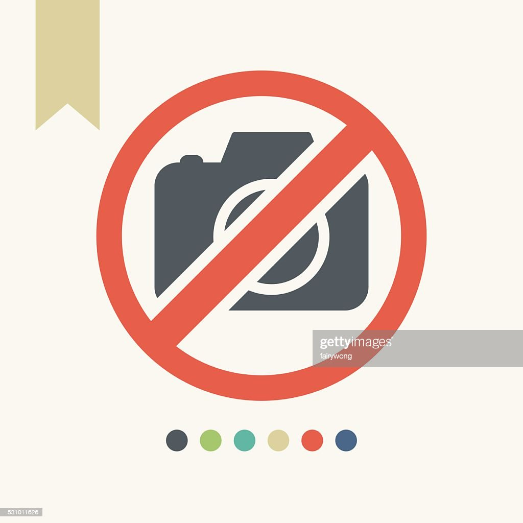 Camera Not Allowed Sign