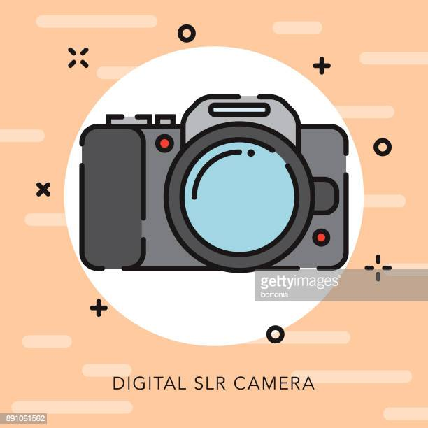 Camera Open Outline Photography Icon