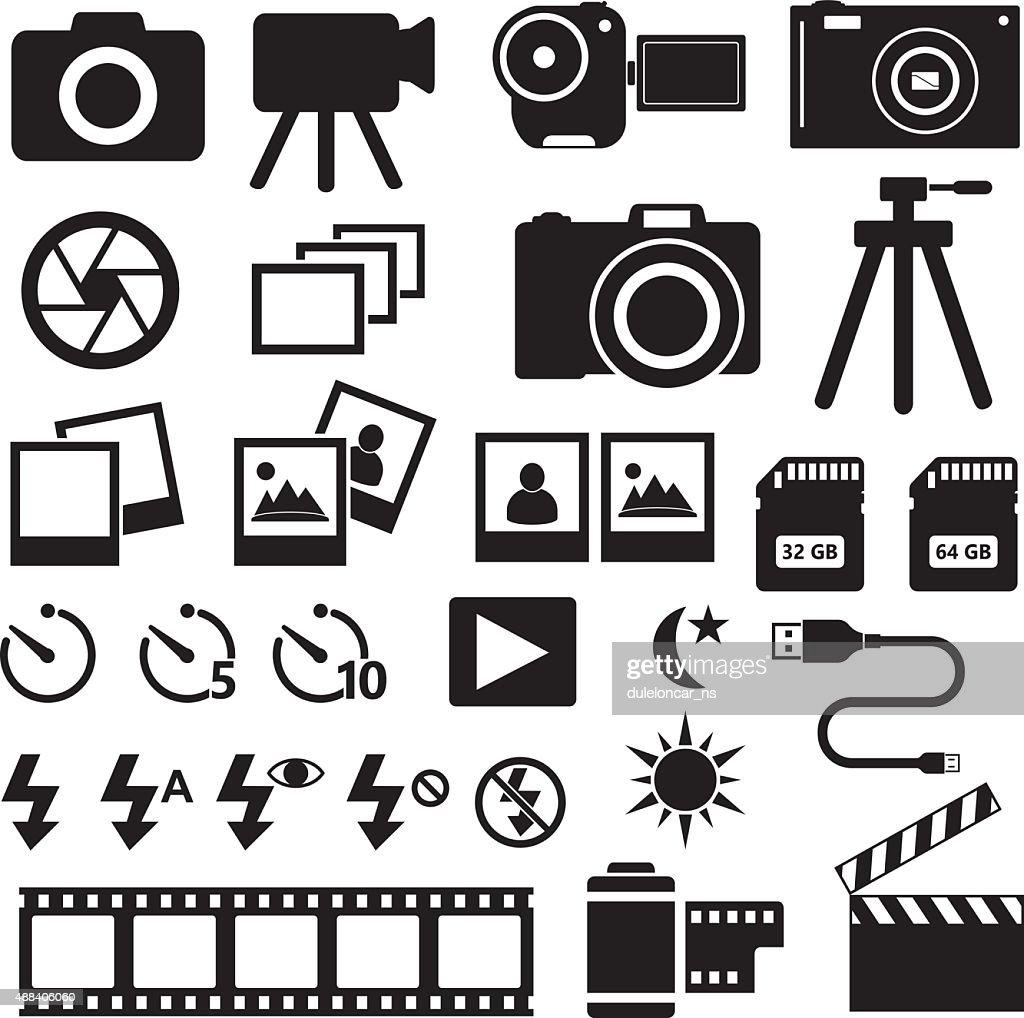 Camera Photo Icons