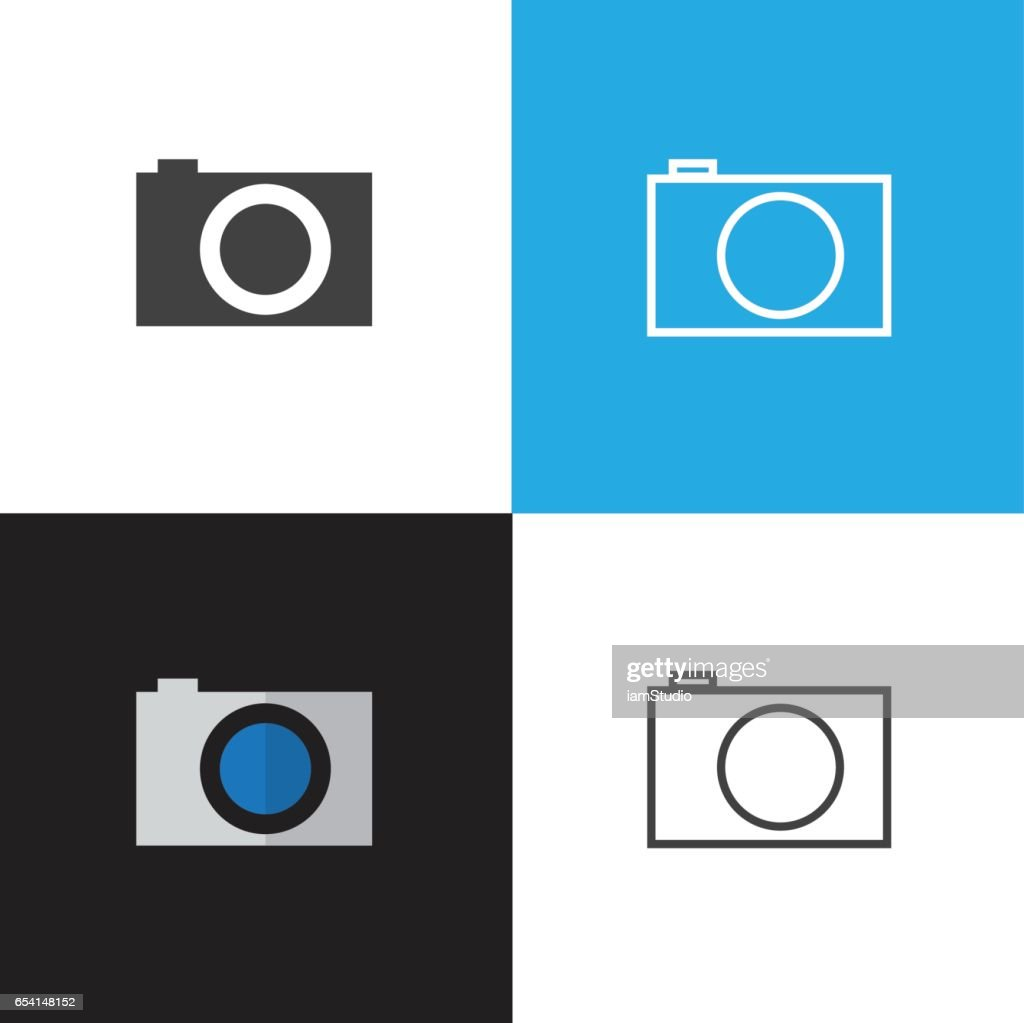 Camera Photo Vector Icons