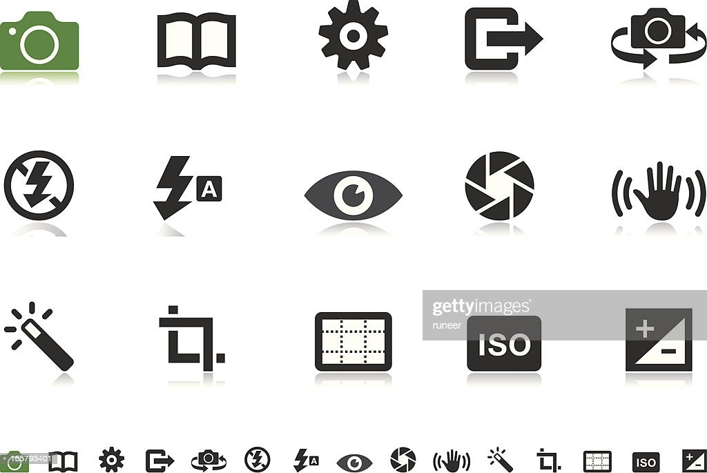 Camera UI icons | Pictoria series