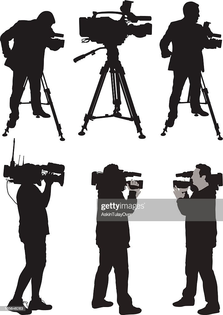 Cameraman : stock illustration
