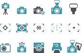 Cameras Icon Set