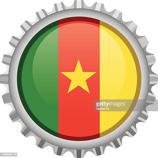 cameroon bottle top - cameroon stock illustrations, clip art, cartoons, & icons