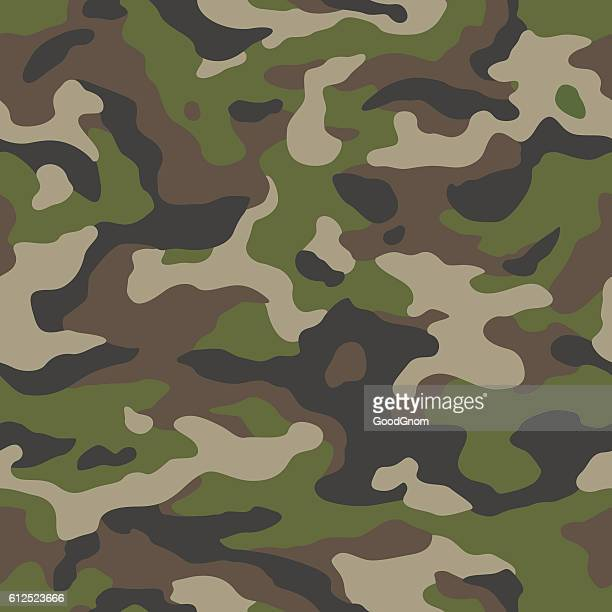 camo seamless - military stock illustrations, clip art, cartoons, & icons