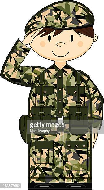 Camouflage British Army Private
