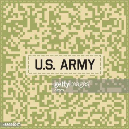 Fünf Camouflagemuster Vektorgrafik | Getty Images