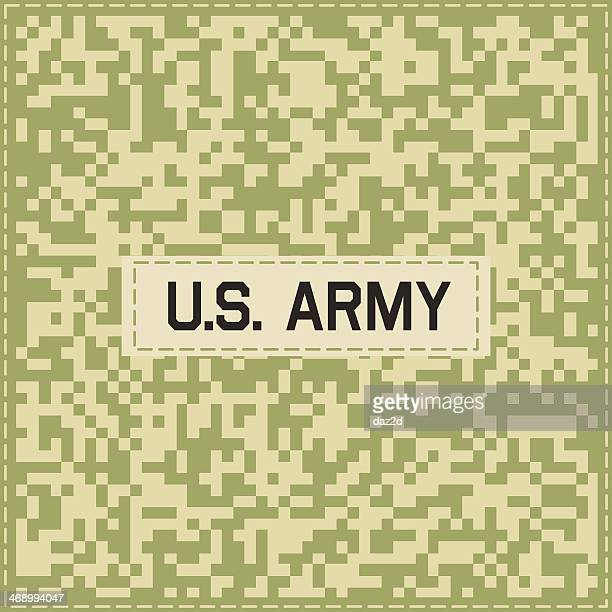 camouflage pattern five - special forces stock illustrations, clip art, cartoons, & icons
