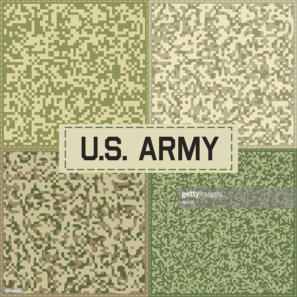 Camouflage Pattern Set One