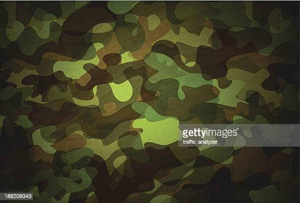 camouflage pattern - camouflage stock illustrations