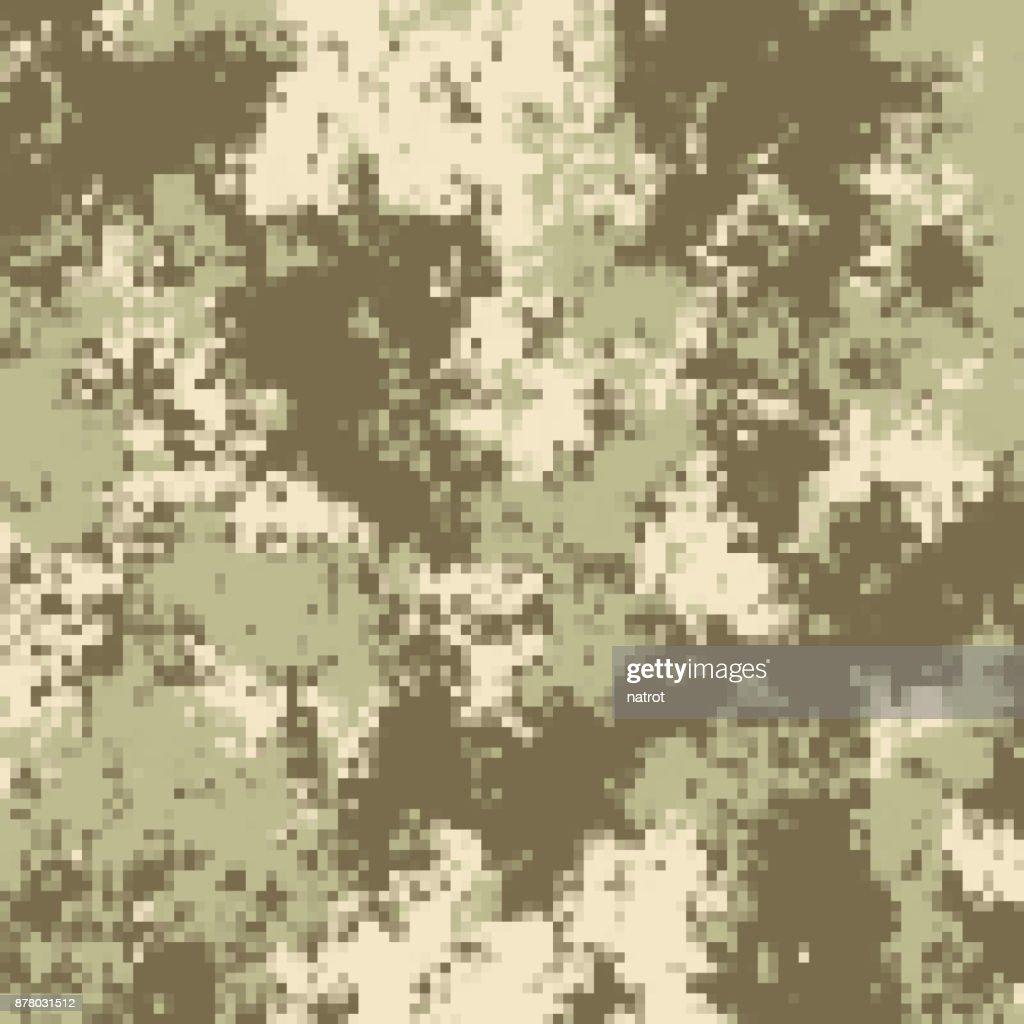 Camouflage pixel pattern