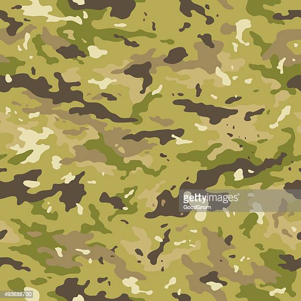 camouflage seamless pattern - special forces stock illustrations, clip art, cartoons, & icons