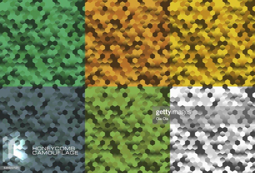 Camouflage seamless pattern : Vector Art