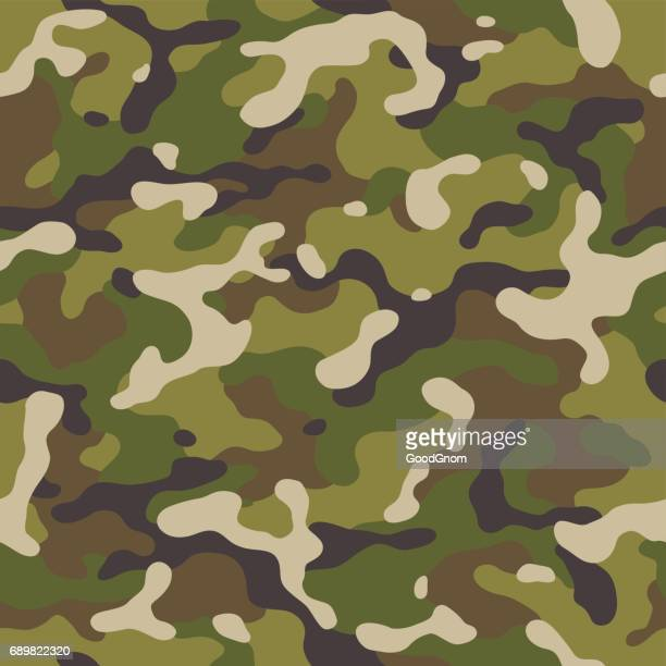 camouflage seamless - military personnel stock illustrations, clip art, cartoons, & icons