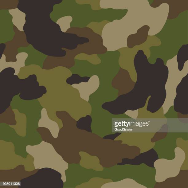camouflage seamless - special forces stock illustrations, clip art, cartoons, & icons