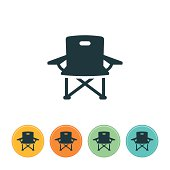 Camp Chair Icon