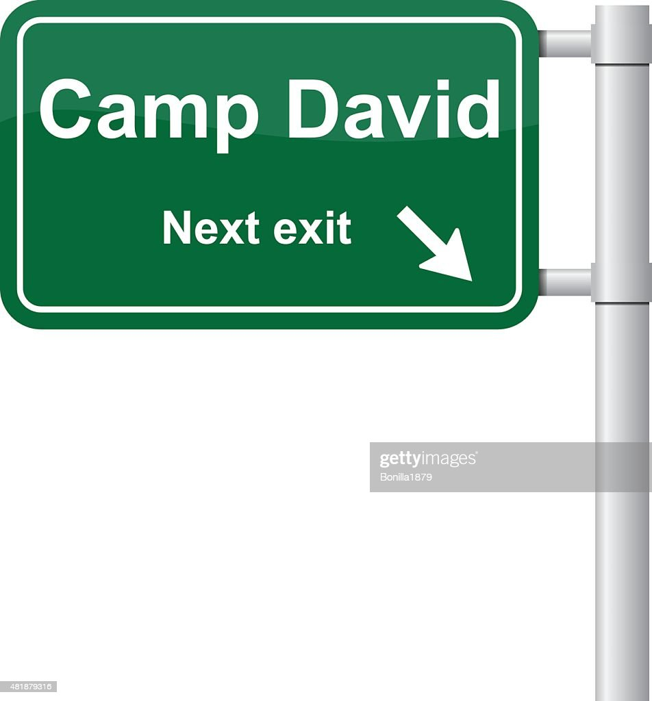 Camp David next exit signal vector