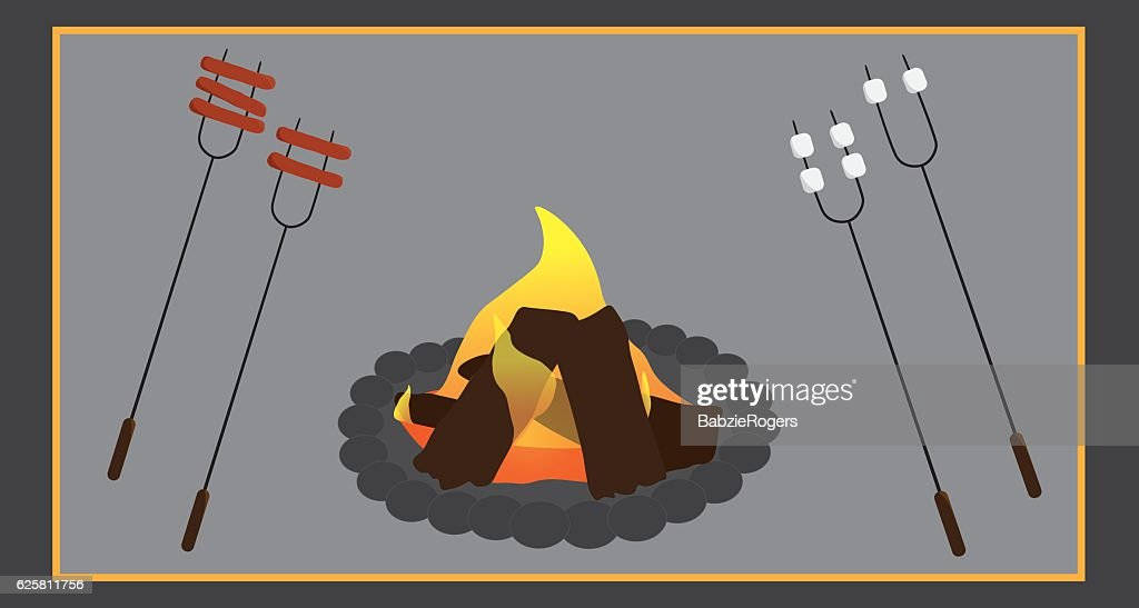 Campfire cooking images