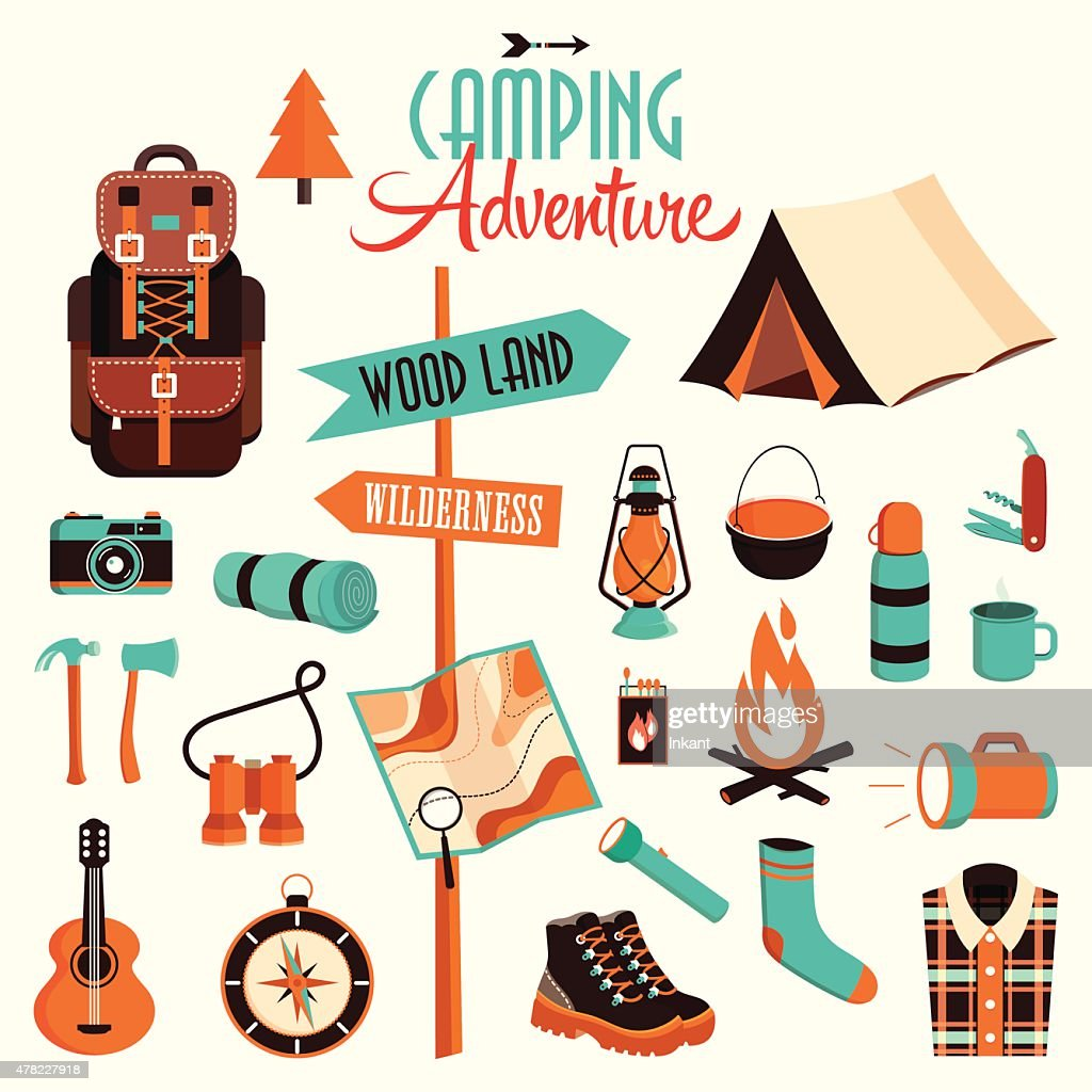 Camping adventure pack