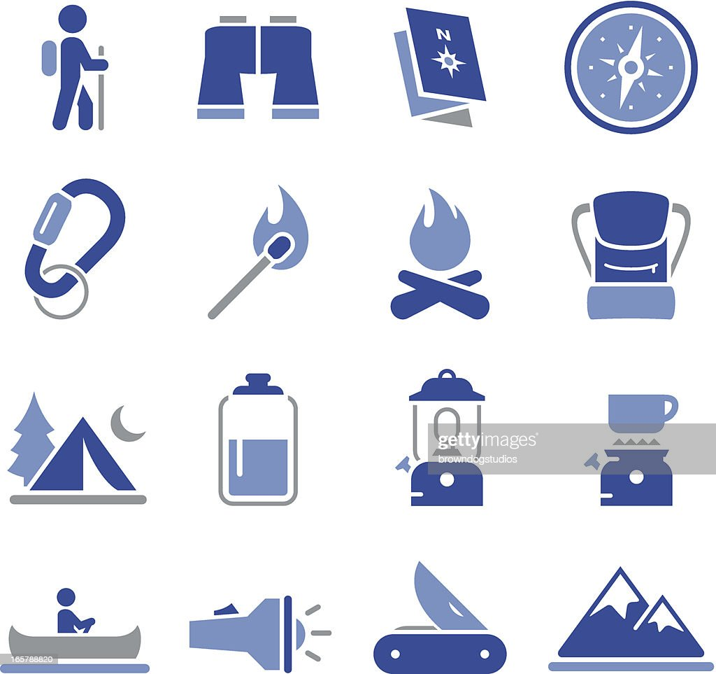Camping Icons - Pro Series