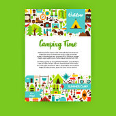 Camping Time Poster