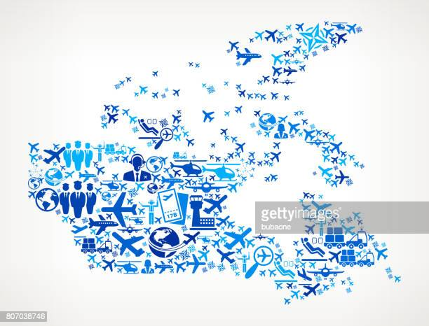 Canada Aviation and Air Planes Vector Graphic