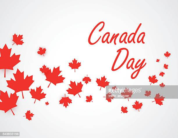 canada day background - canada day stock illustrations