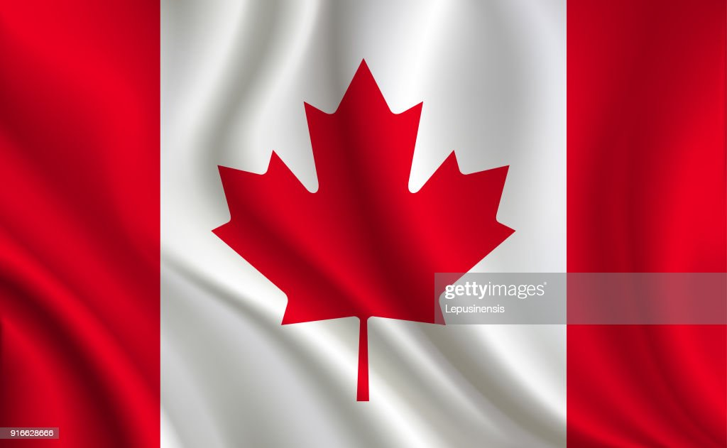 Canada flag background
