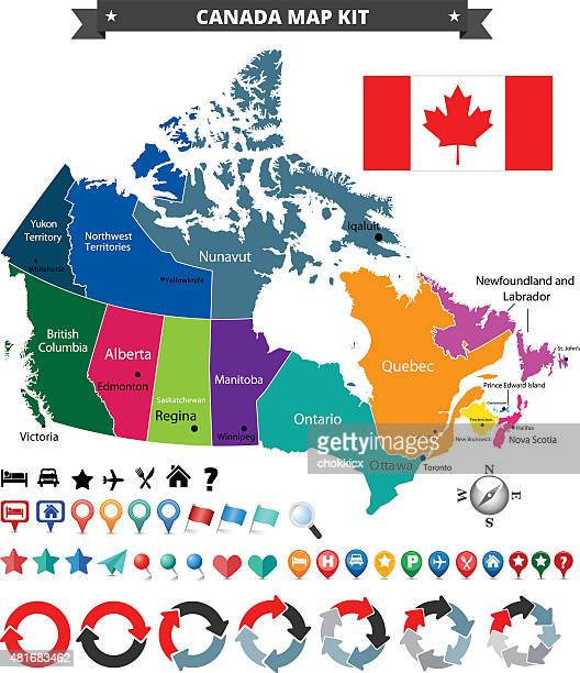 Canada Map Kit