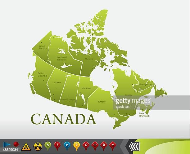 Canada Karte