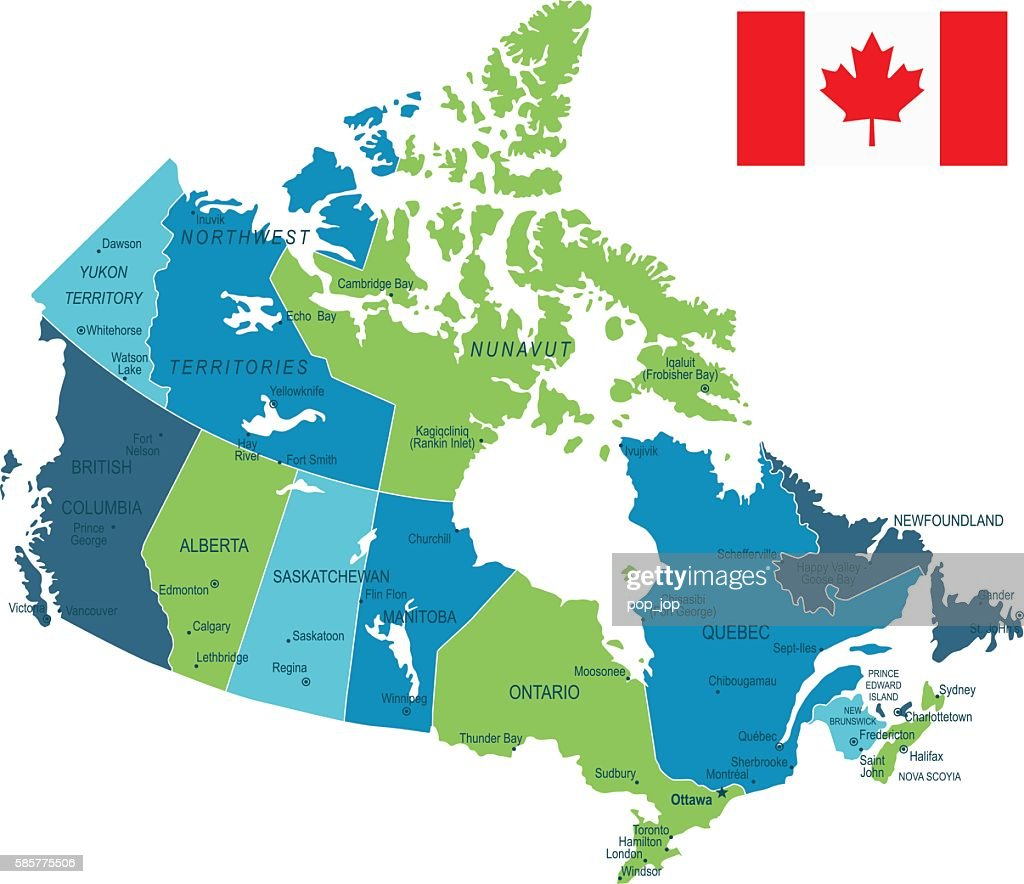 Prince George Canada Map.Canada Map Vector Art Getty Images