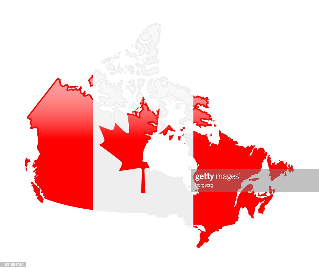 Canada Map Vector Art Getty Images