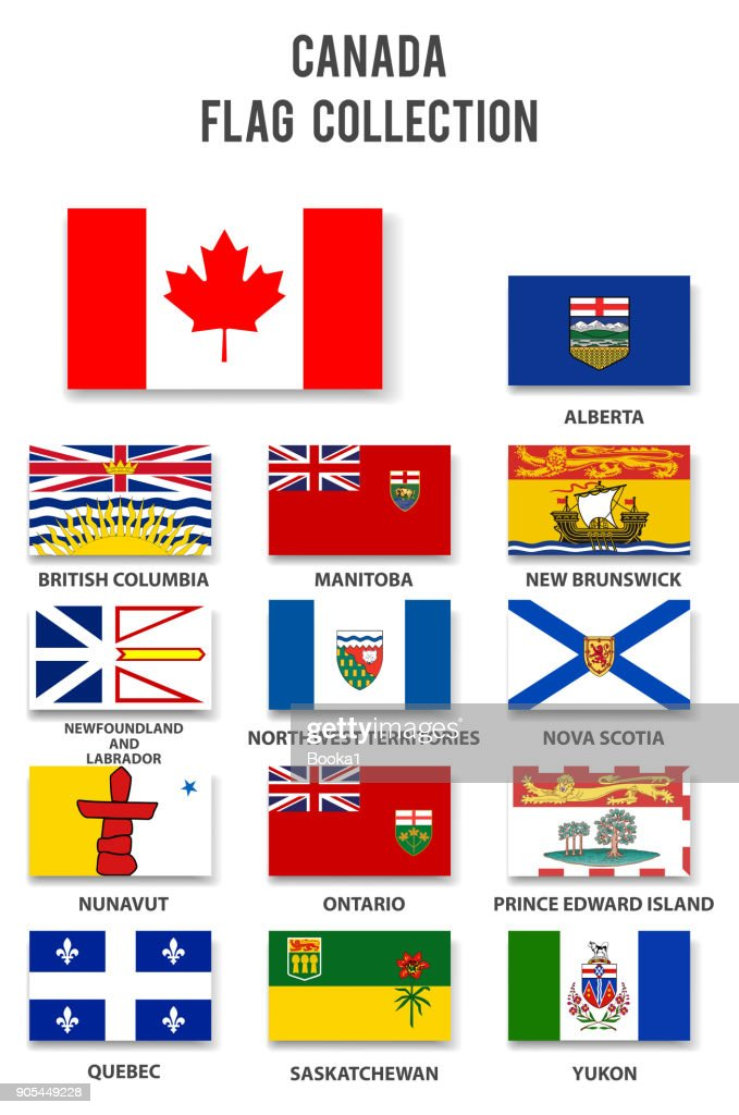 Canada Provinces Flag Collection