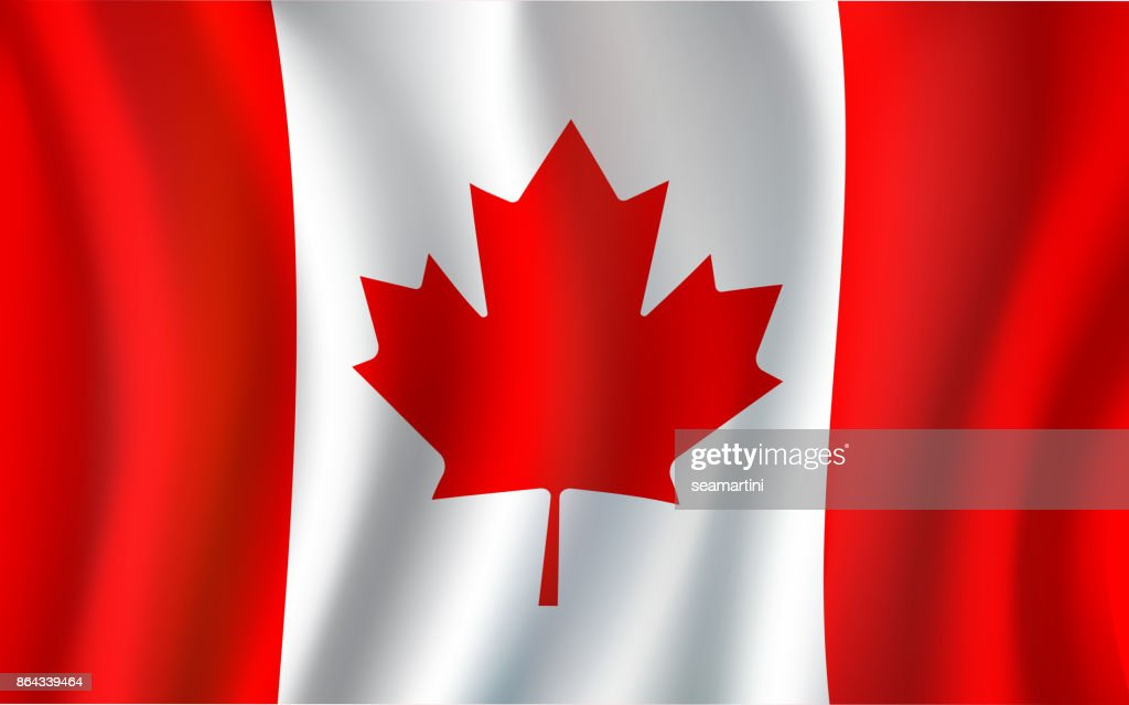 Canadian Flag Maple Leaf 3d Symbol Of Canada Vector Art Getty Images