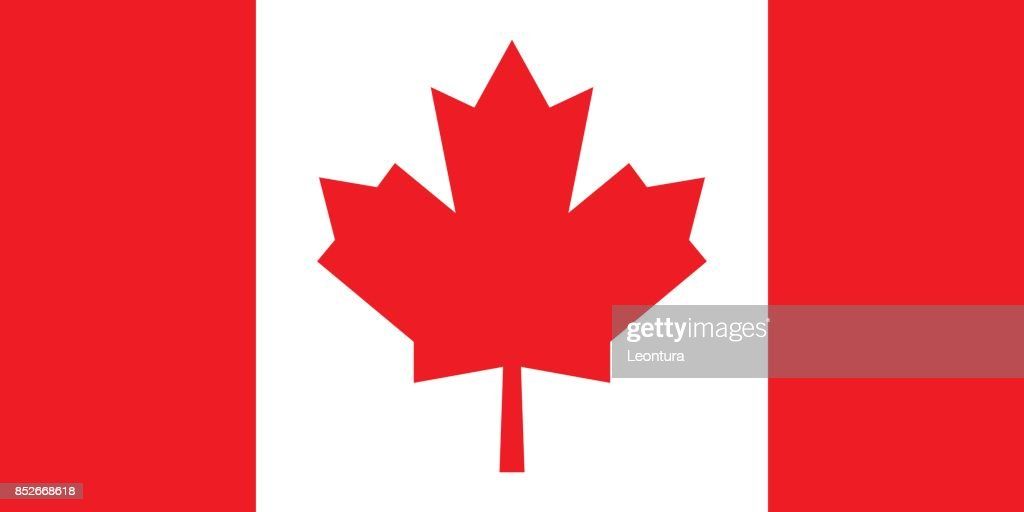 Canadian Flag (Official Colors)