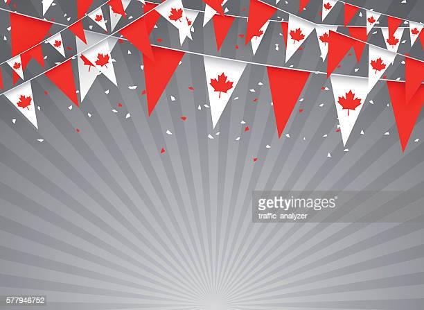 Kanadische flags