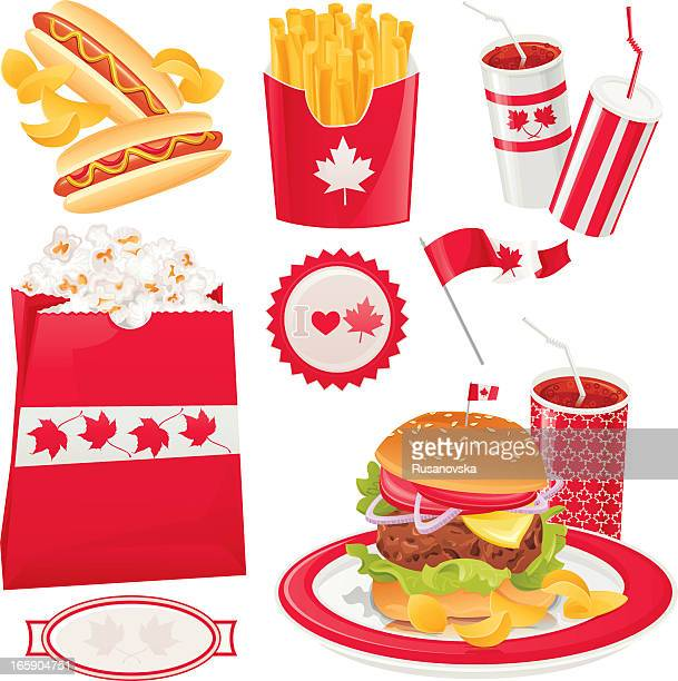 Canadian Holiday Fast Food