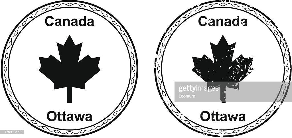 Canadian Passport Stamp