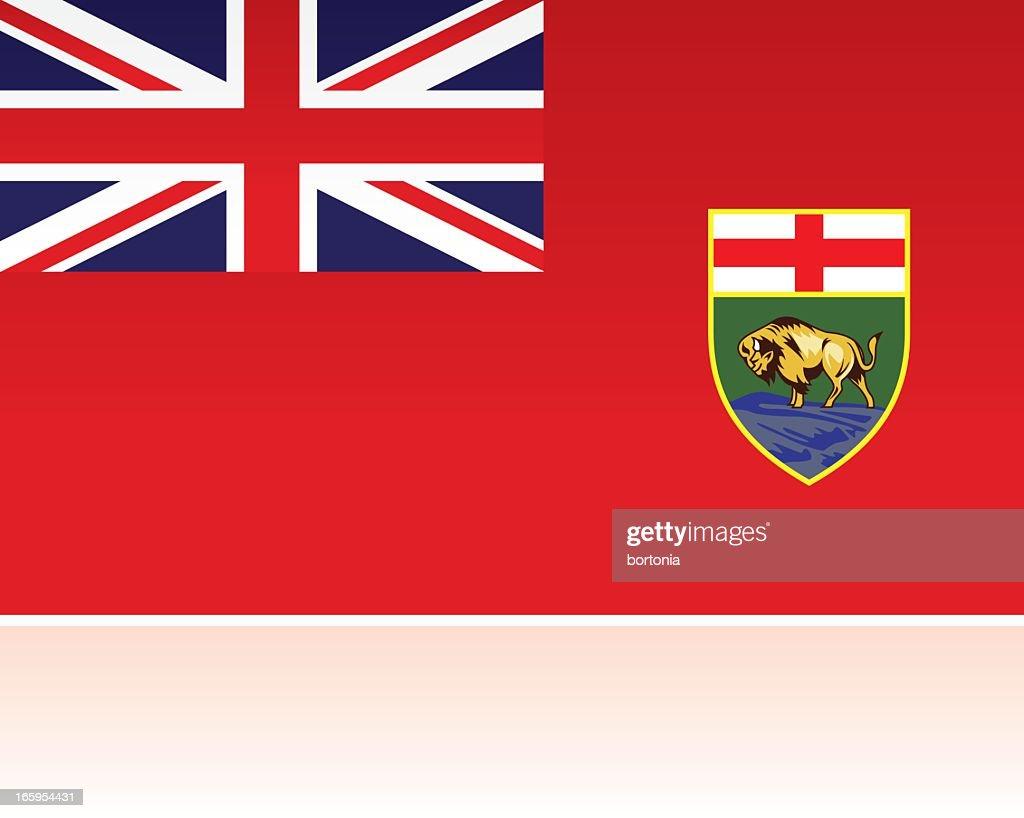 Canadian Provincial Flag: Manitoba