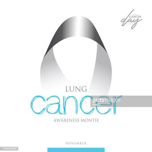 cancer awareness ribbon. vector stock illustration - pancreatic cancer stock illustrations