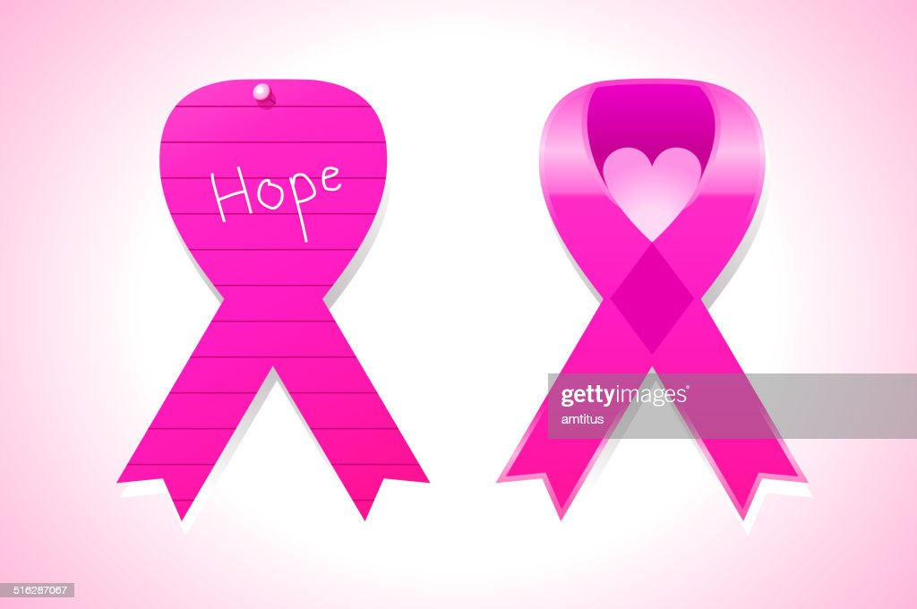 Cancer Awareness Symbols Vector Art Getty Images