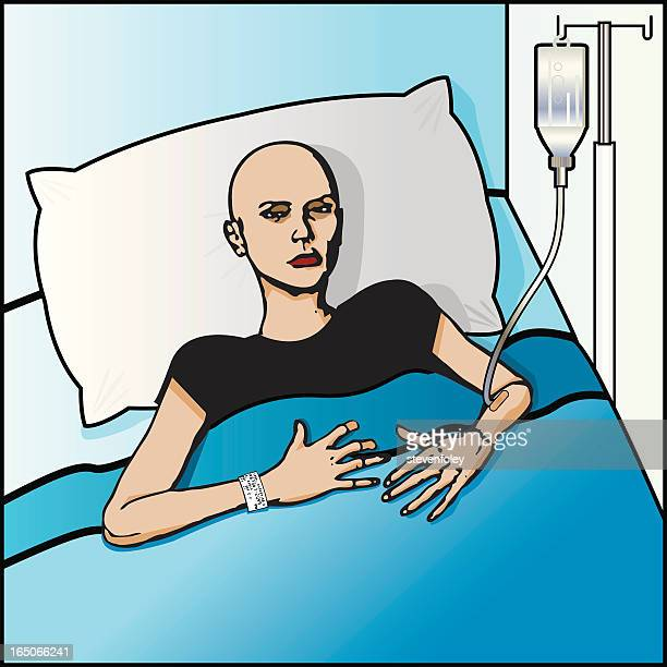 cancer patient - aids stock illustrations, clip art, cartoons, & icons