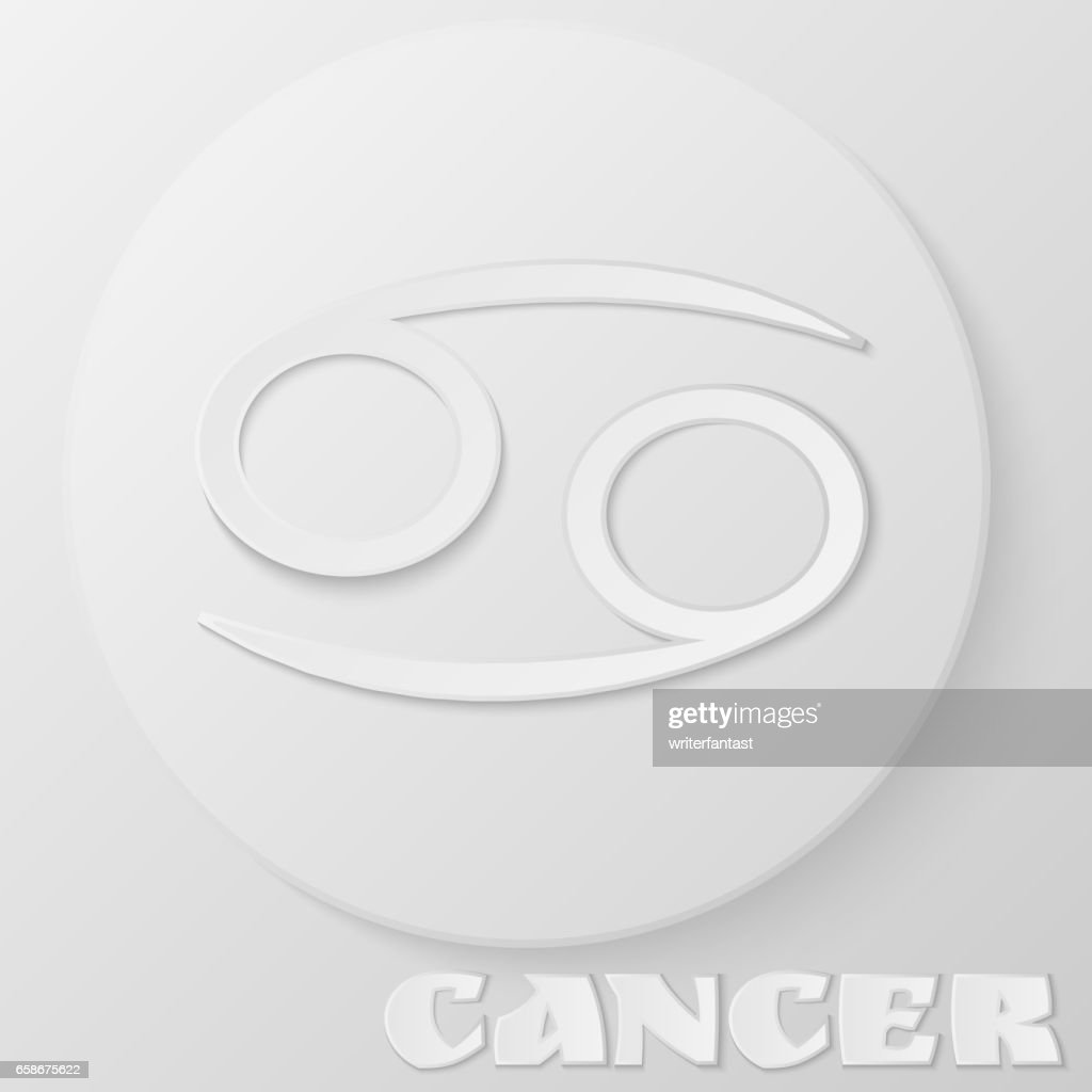 Cancer Zodiac Symbol Cancer Papercut Crawfish Zodiac Horoscope
