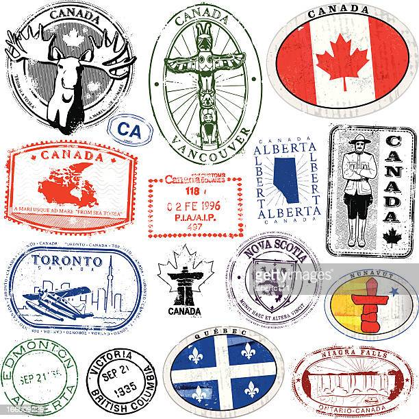 candian travel pracht - kanada stock-grafiken, -clipart, -cartoons und -symbole