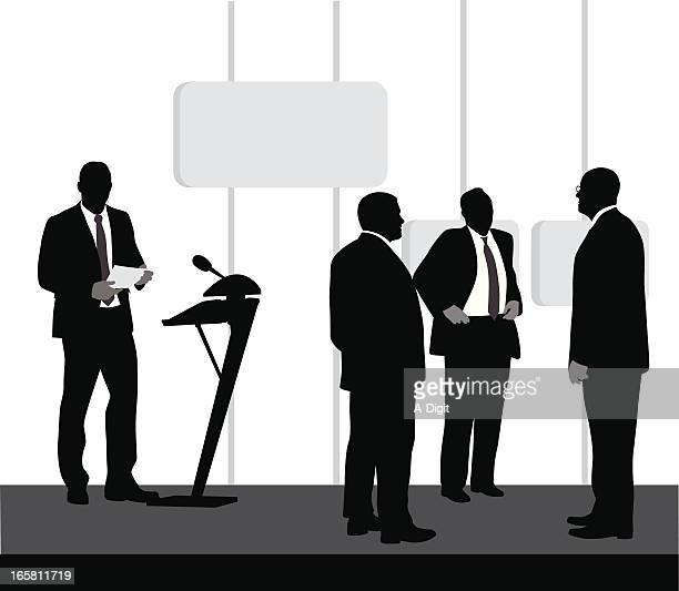 Candidates Vector Silhouette