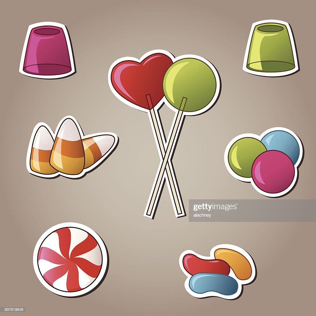 Candy and Sweets Vector Set